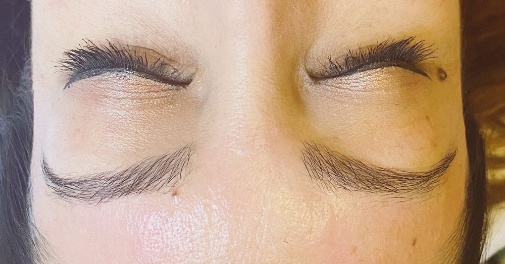 brows and lashes at social aesthetics